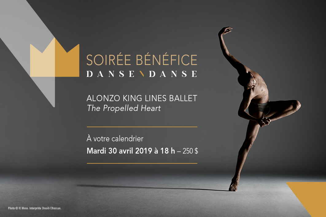 Soirée bénéfice 2019 Danse Danse - Alonzo King LINES Ballet