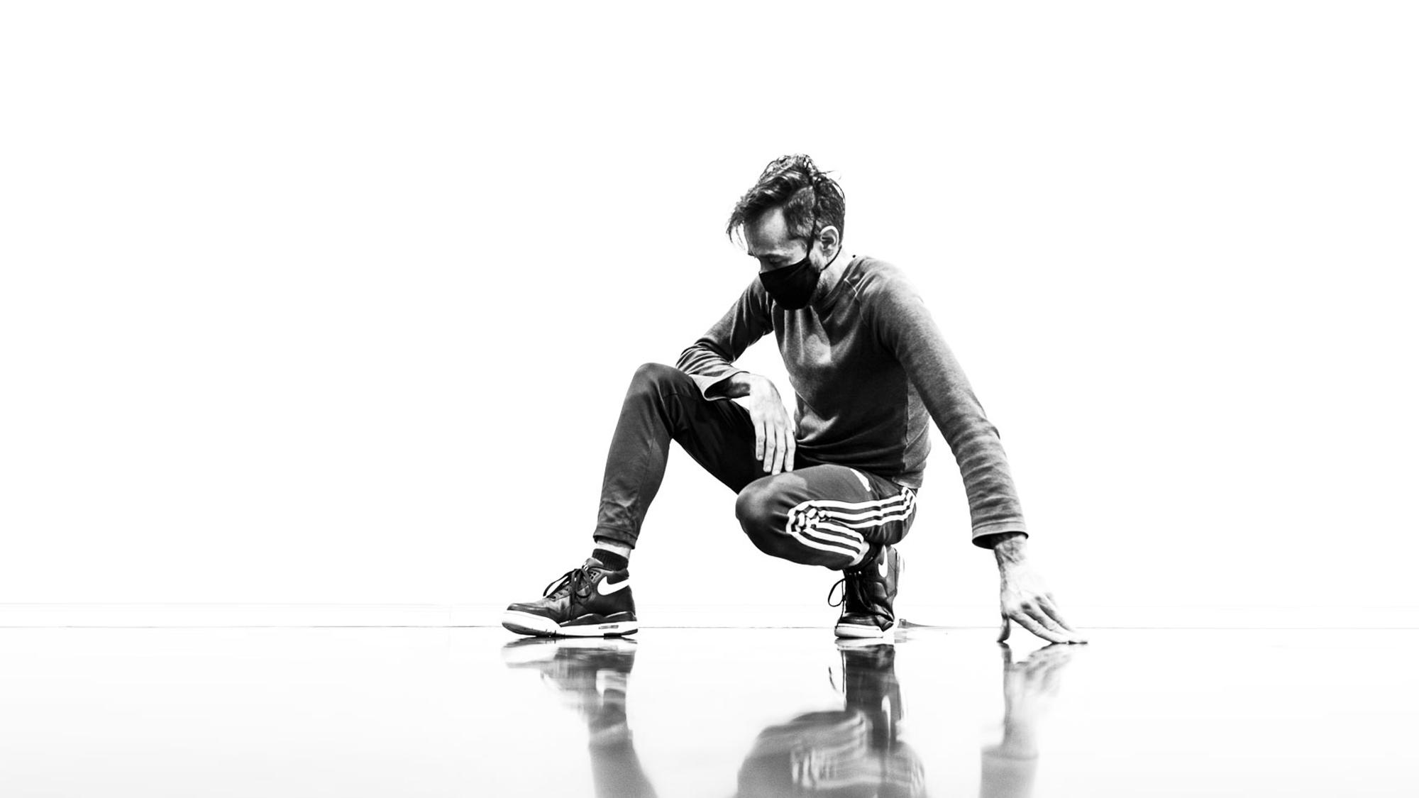 Photo © Jean-Christophe Yacono. Dancer Frédérick Gravel