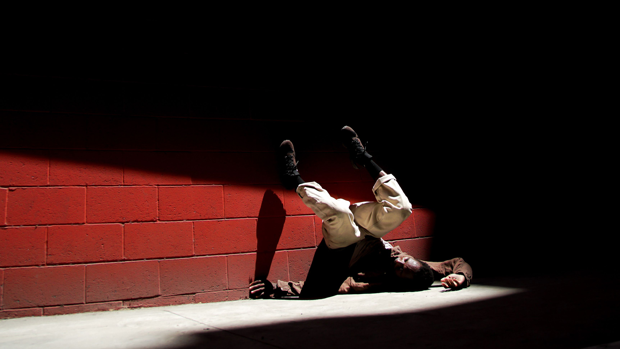 Photo ©Jonas Jacob. Dancer Jermaine Spivey.