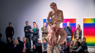 Andrea Peña & Artists en résidence à Arsenal art contemporain © Romain Guilbault.