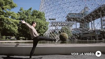 Montréal célébrée par ses danseurs / Philippe