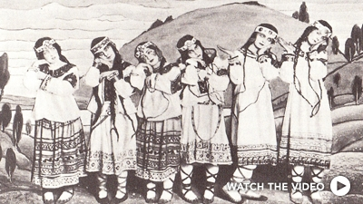 The Rite of Spring - The Sketch, London, 1913